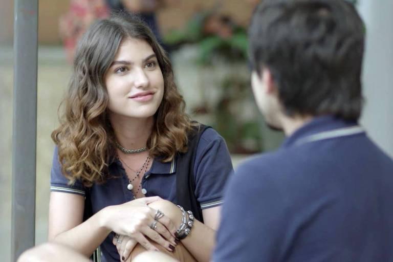 """Samantha faz intriga de Lica para Felipe. Quinta (9/7), em """"Malhação"""""""