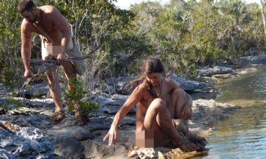"""""""Largados e Pelados"""": participantes encaram árvores venenosas nas Bahamas"""
