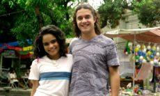 """Daniel e Solange têm sua primeira noite de amor. Terça (25/8), em """"Fina Estampa"""""""