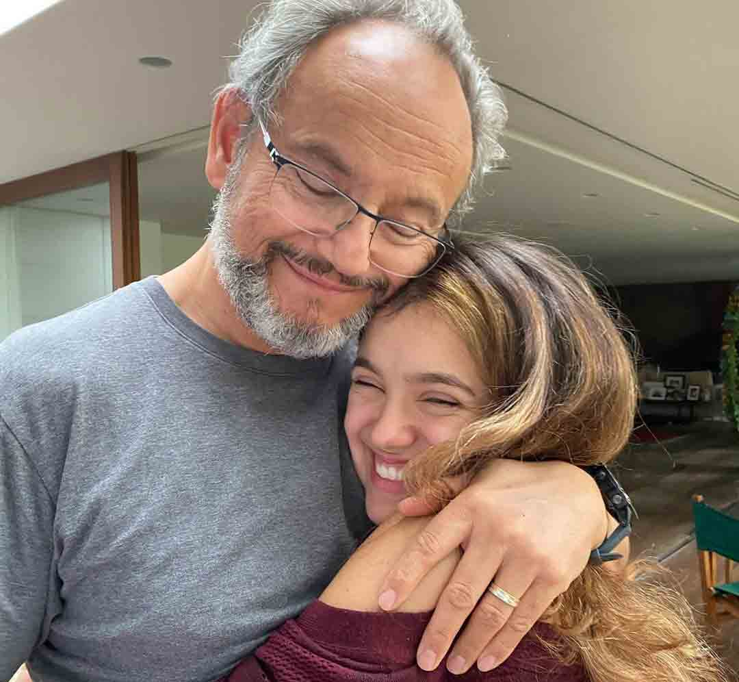 Sandra Annenberg e Ernesto Paglia estão casados desde 1994, os dois são pais de Elisa Paglia, de 17 anos. Foto: Instagram