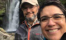 Sandra Annenberg e Ernesto Paglia comemoram 26 anos de casamento . Foto: Instagram