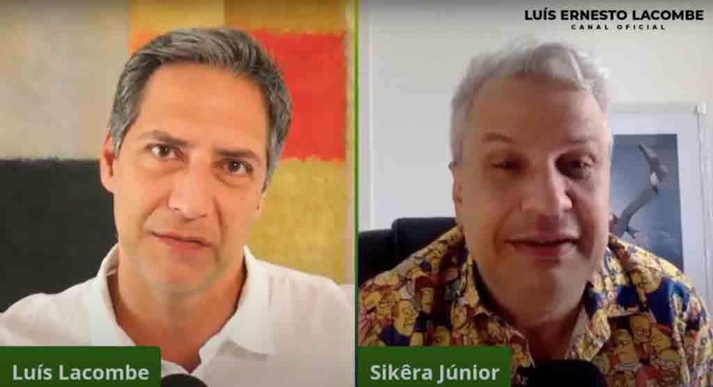 Lacombe despeja bomba sobre novo programa ao vivo com Sikêra Jr. Foto: Reprodução Youtube