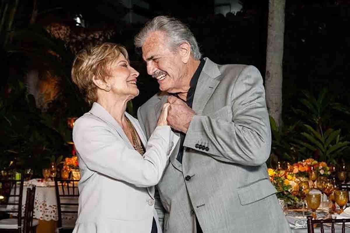 Tarcísio Meira e Glória Menezes são demitidos após mais de 50 anos na Globo. Foto: Instagram