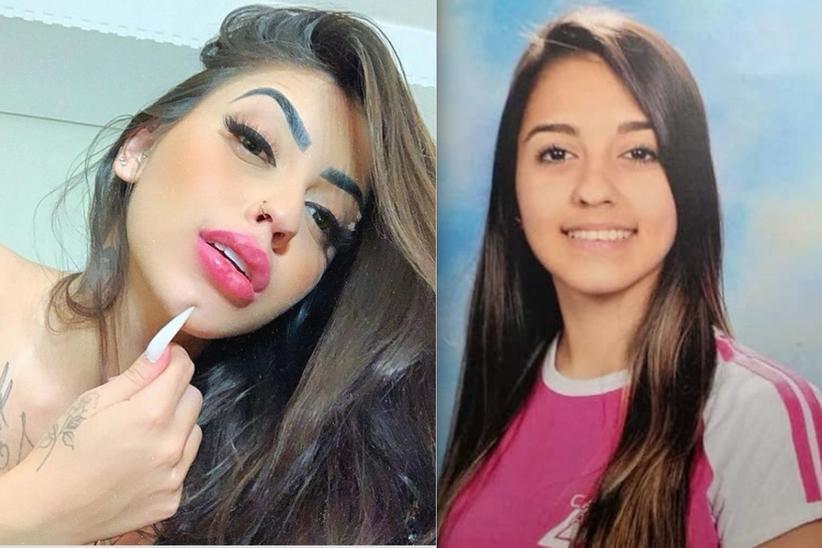 Mc Mirella antes e depois