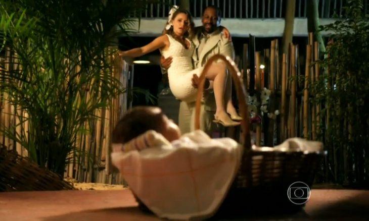 """Quirino e Doralice em """"Flor do Caribe"""""""