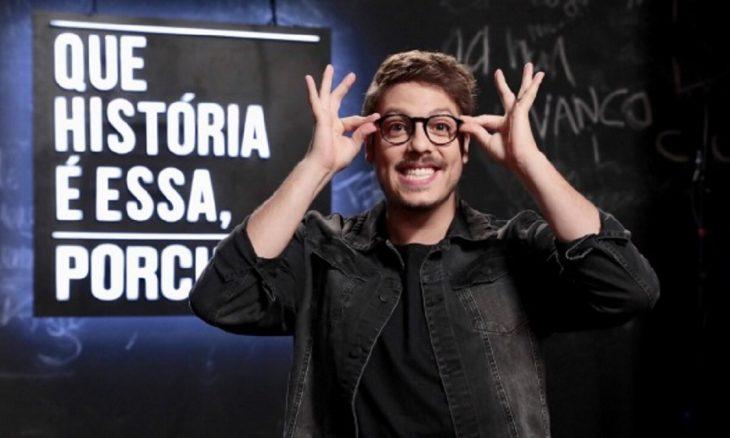 """Sucesso no GNT """"Que história é essa, Porchat?"""" será transmitido na Globo nas noites de quinta"""