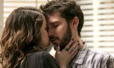 """Giovanni e Camila se beijam nesta quarta (28) em """"Flor do Caribe"""""""