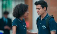 """Ellen e Guto pulam muro da colégio para ir ver Benê nesta quarta (21) em """"Malhação-Viva a Diferença"""""""