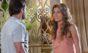 """Cassiano pergunta a Ester para onde Alberto levou seu filho nesta quarta (30) em """"Flor do Caribe"""""""