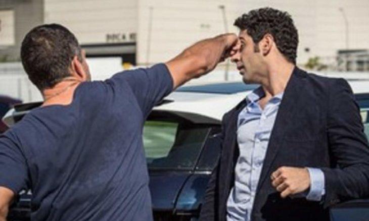"""Briga! Apolo agride Beto neste sábado (17) em """"Haja Coração"""""""