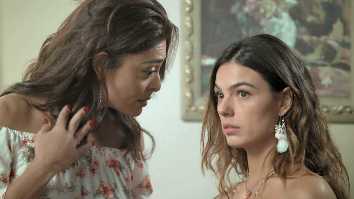 """Bibi avisa para a família de Ruy que Ritinha está grávida neste sábado (10) em """"A Força do Querer"""""""