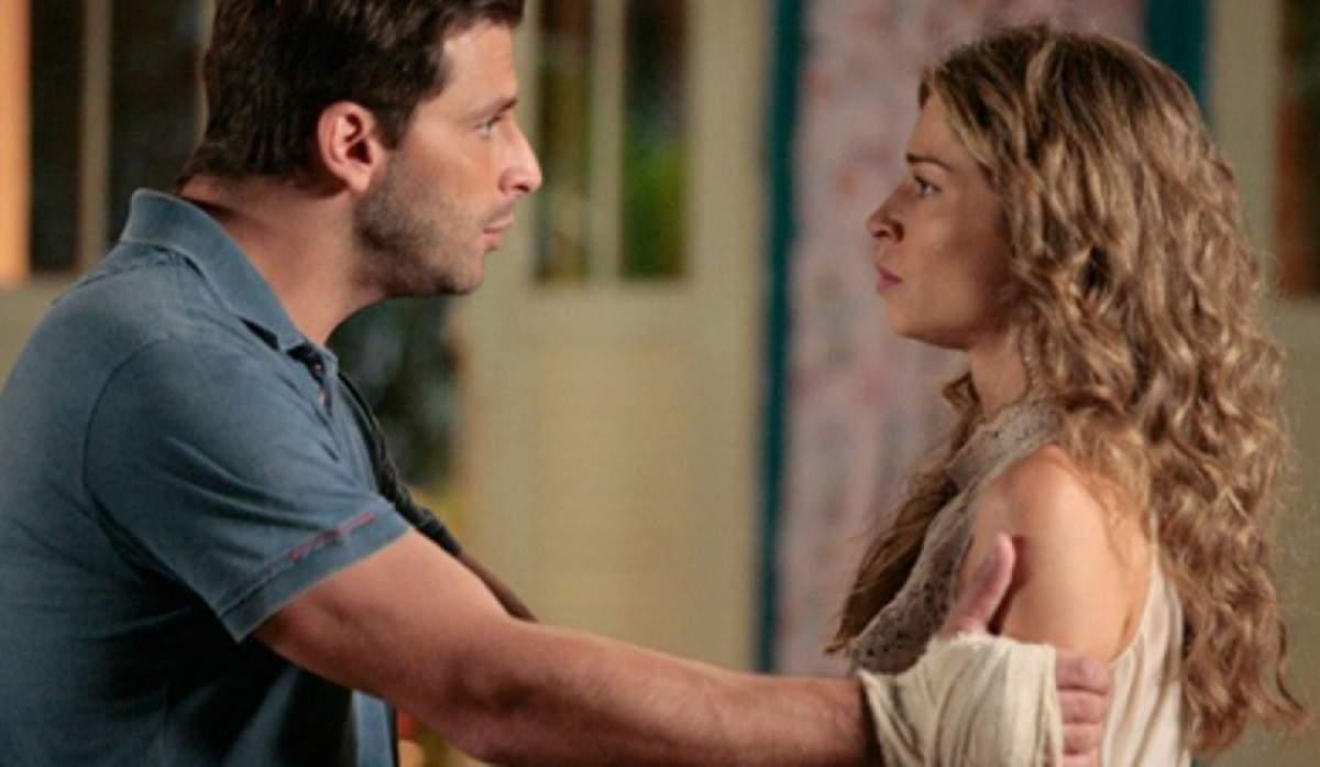 """Ester pergunta a Cassiano sobre Cristal nesta segunda (19) em """"Flor do Caribe"""""""