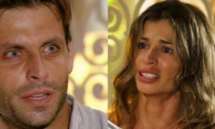 """Ester se sente traída por Cassiano neste sábado (17) em """"Flor do Caribe"""""""