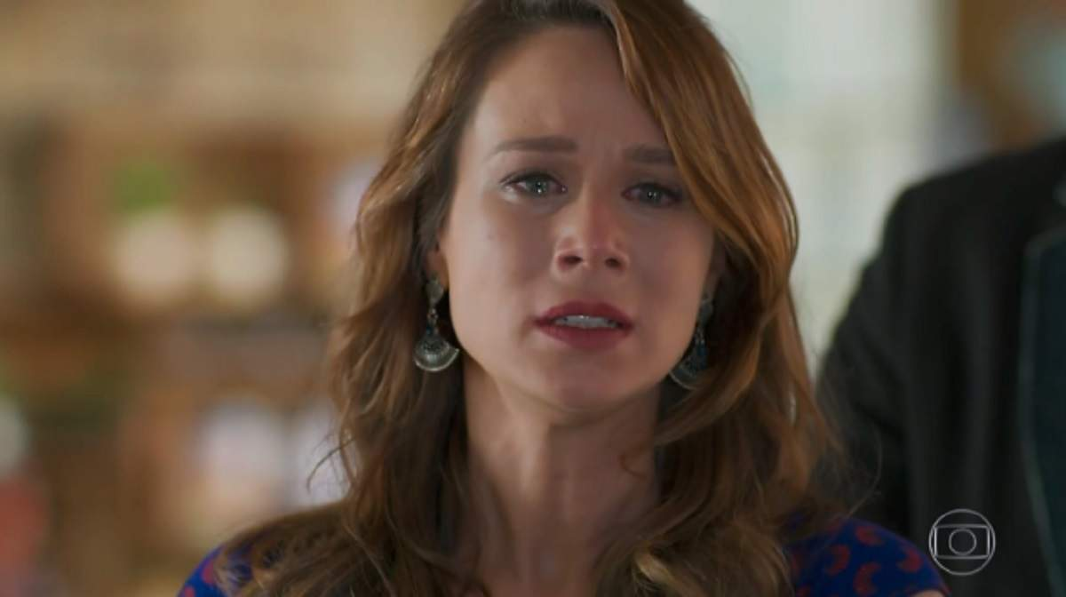 """Tancinha sofre com rompimento de noivado com Apolo nesta segunda (2) em """"Haja Coração"""""""