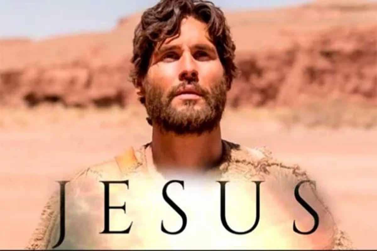 Caifás enfrenta Jesus e pergunta pelo Pai do Messias. Nesta segunda (12) em 'Jesus'. Foto: reprodução