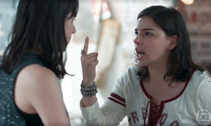 """Keyla confronta Lica sobre envolvimento com Deco nesta terça (27) em """"Malhação - Viva a Diferença"""""""