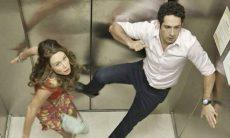 """Beto e Tancinha ficam presos em um elevador nesta segunda (26) em """"Haja Coração"""""""
