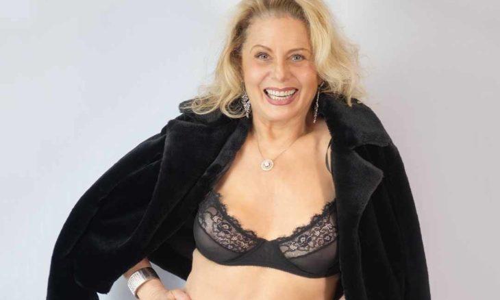 Vera Fischer posa de lingerie e mostra boa forma aos 68 anos. Foto: Reprodução Instagram