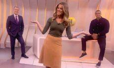 Narrador do Sportv está namorando a jornalista Jacqueline Brazil. Foto: Reprodução Instagram