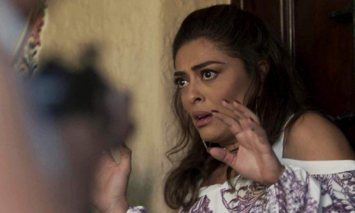 """Bandidos vão até a casa de Bibi nesta segunda - feira (9) em """"A Força do Querer"""""""