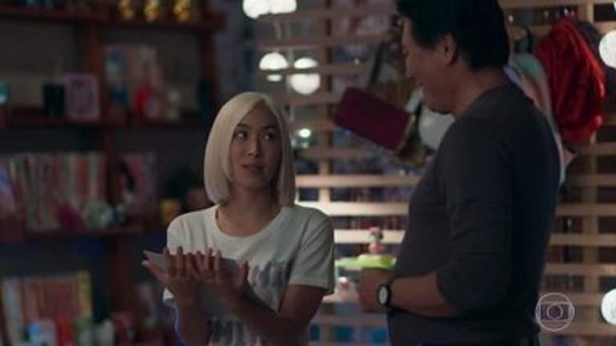 """Tina ganha dinheiro por clipe no Japão nesta segunda (30) em """"Malhação - Viva a Diferença"""""""