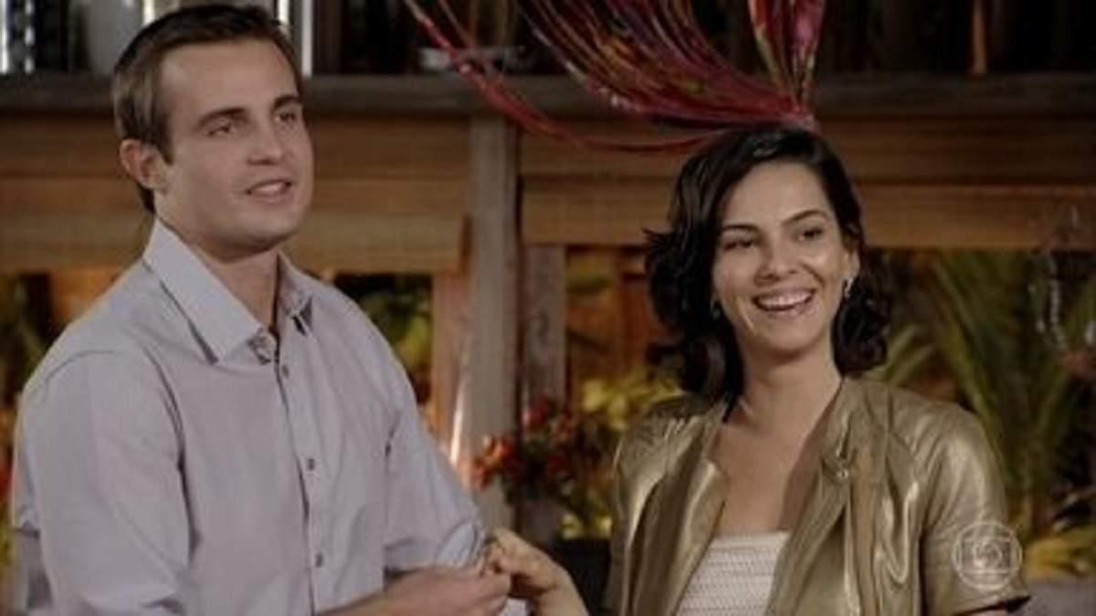 """Ciro confessa que sente falta de Mila neste sábado (28) em """"Flor do Caribe"""""""