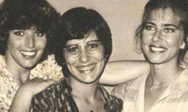 """Glória Pires compartilha foto rara dos bastidores da novela """"As Três Marias"""""""