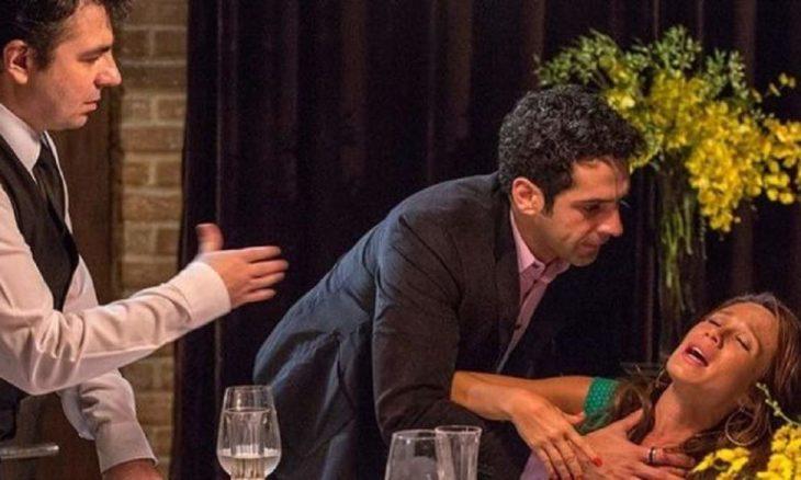 """Tancinha passa mal durante encontro com Beto neste sábado (7) em """"Haja Coração"""""""