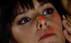 Bianca Rinaldi como Samira em Os Mutantes (Reprodução / TV Record)