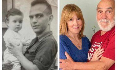 Lima Duarte mostra antes e depois em foto com a filha. Foto: Instagram