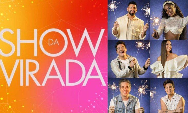 Globo vai animar a noite de Réveillon com a apresentação Show da Virada, veja as atrações