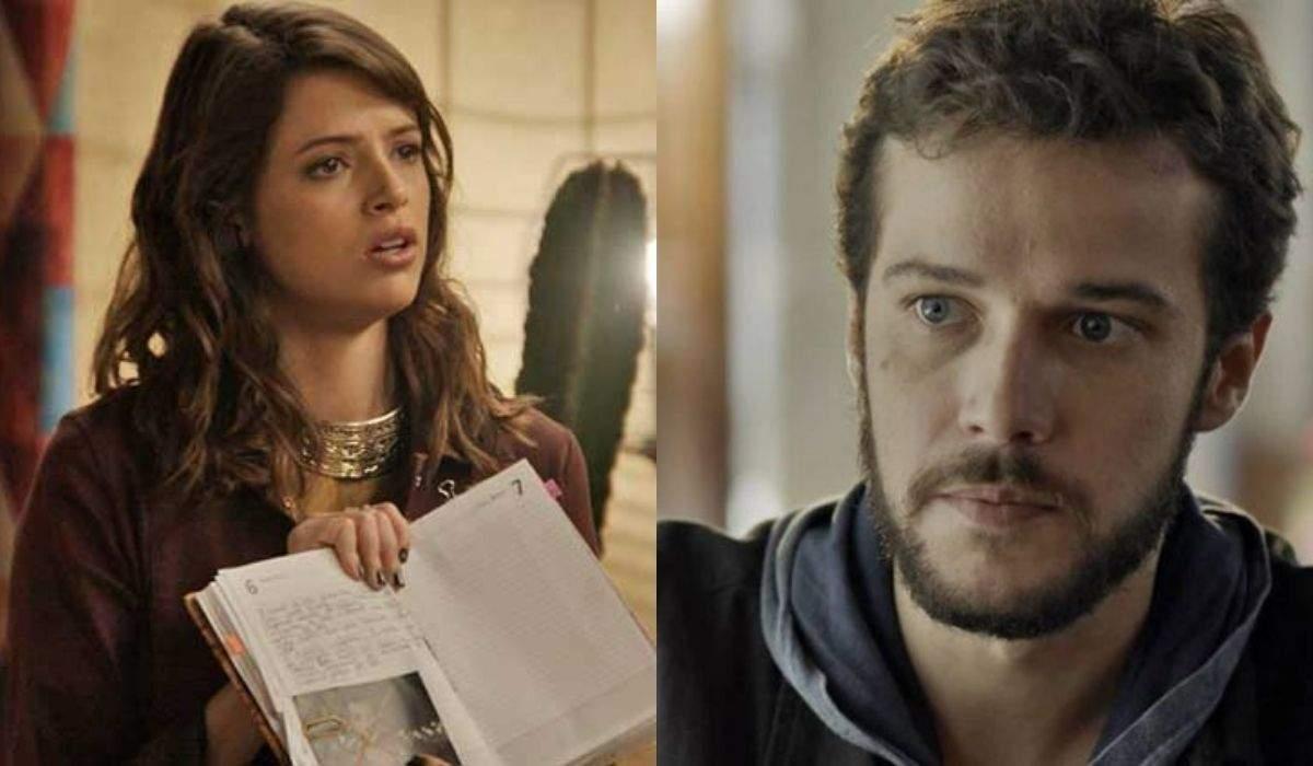 """Camila aceita ler seu diário com Giovanni nesta sexta (4) em """"Haja Coração"""""""