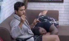 Mariano sai irritado com Jojo Todynho após ela pegar nas suas partes íntimas em 'A Fazenda 2020'. Foto: Reprodução Instagram