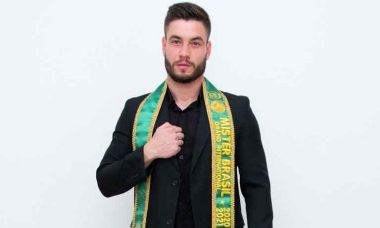 Mister Paraná 2020 Igor da Silva é eleito Mister Brasil Grand International 2020/21 . Foto: Divulgação