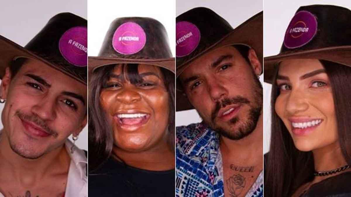 A Fazenda 12: Tays Reis é eliminada e final terá Jojo Toddynho, Biel, Lipe e Stéfani. Foto: Reprodução TV Record
