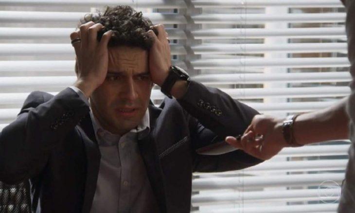 """Beto hesita em sabotagem do casamento de Beto e Tancinha nesta terça (29) em """"Haja Coração"""""""