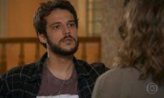 """Camila diz ter sido enganada e Giovanni se explica neste sábado (5) em """"Haja Coração"""""""
