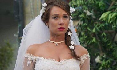 """Tancinha vê vídeo de Apolo traindo no telão e chora nesta sexta (1) em """"Haja Coração"""""""