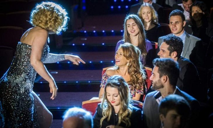 """Beto leva Tancinha ao teatro para conhecer Claudia Raia nesta sexta (18) em """"Haja Coração"""""""