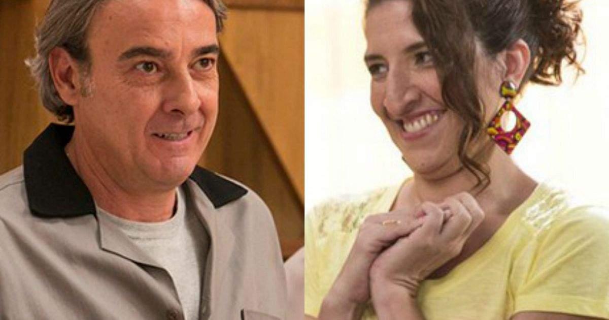 """Dinalda descobre que Aparício é presidente do Grand Bazzar nesta sábado (23) em """"Haja Coração"""""""