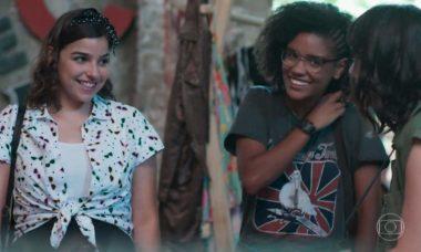 """Keyla avisa que vai fazer uma festa surpresa para Tato nesta quinta (7) em """"Malhação - Viva a Diferença"""""""