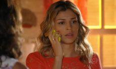 """Lindaura avisa a Ester que Samuel foi sequestrado nesta segunda (4) em """"Flor do Caribe"""""""