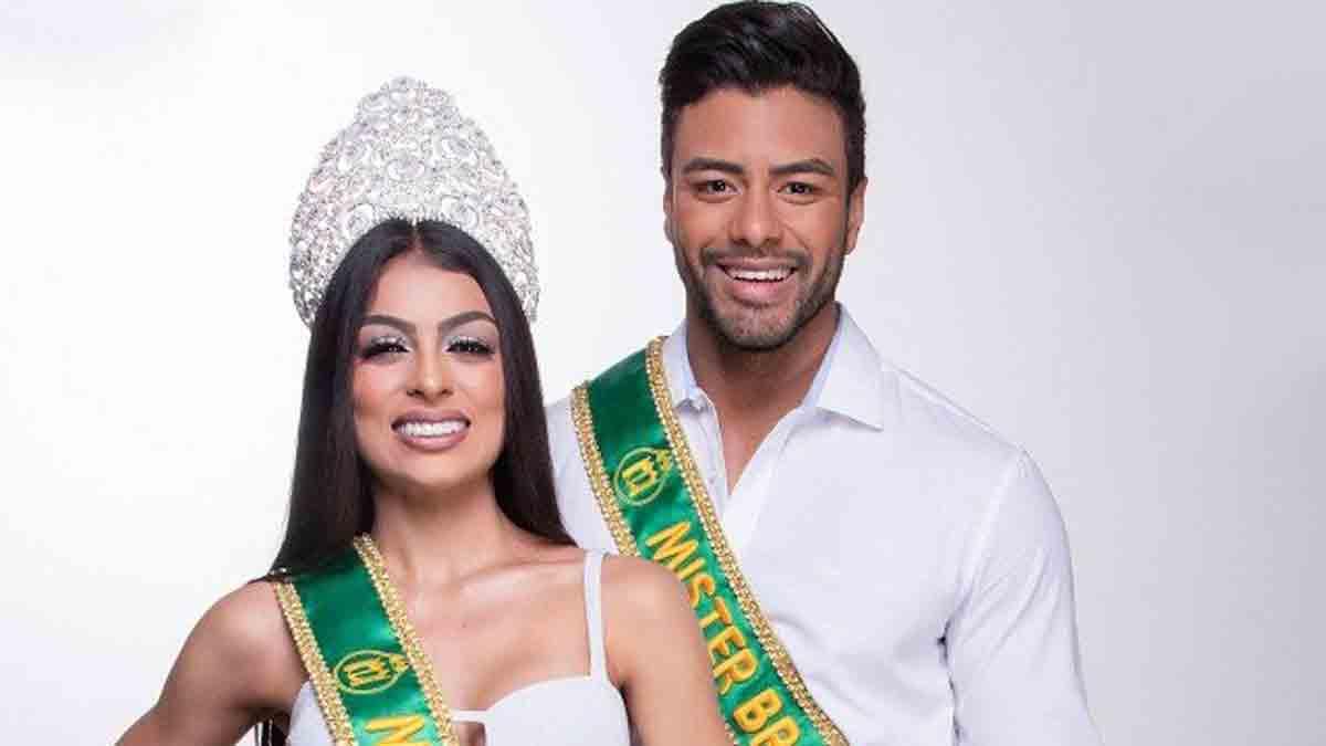 Miss e Mister Brasil: Juliana Malveira e Antony Marquez celebram a chegada de 2021