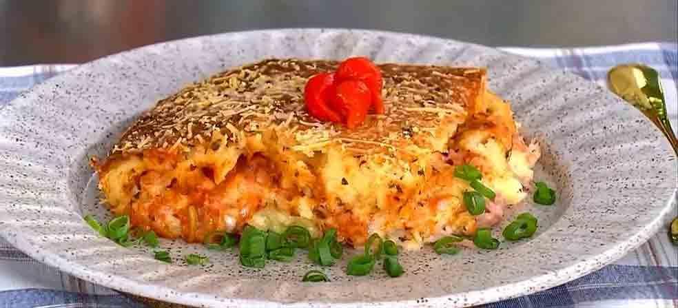 Receita fácil de bauru no forno da Ana Maria Braga. Foto: Reprodução Twitter