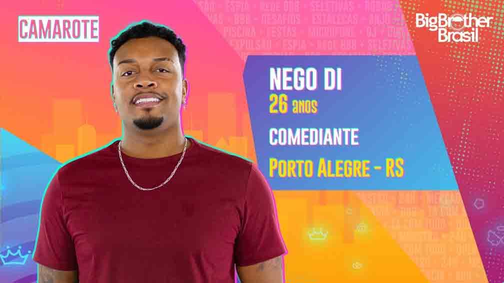 """Humorista, Nego Di começou a ficar famoso com o conteúdo """"Whatsapper"""". Foto: Divulgação"""