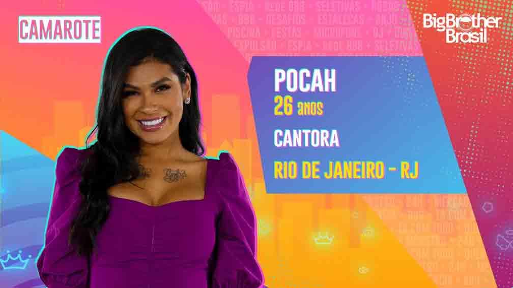 A funkeira Pocah já fez músicas com MC Mirella, Pabllo Vittar, entre outros nomes da música brasileira. Foto: Divulgação