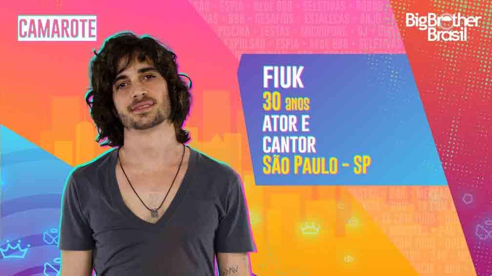 Filho de Fábio Jr., Fiuk é ator e cantor.  Foto: Divulgação