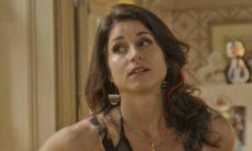 """Carmela sente inveja do namoro de Shirlei com Felipe nesta quarta (20) em """"Haja Coração"""""""