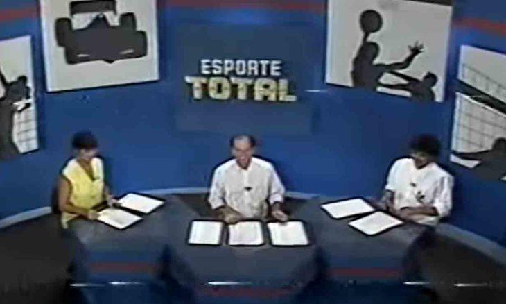 Esporte Total volta a grade da Band após 14 anos. Foto: Reprodução Youtube