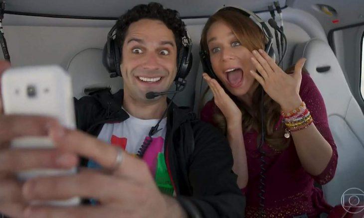"""Beto leva Tancinha para conhecer o RJ de helicóptero neste sábado (9) em """"Haja Coração"""""""